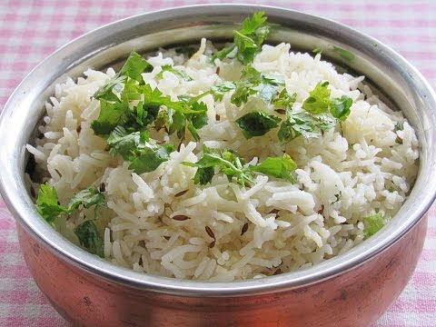 Jeera Rice Recipe - How To Make Perfect Jeera Rice - Easy Jeera Rice In Pressure Cooker | Nisa Homey