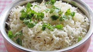 Jeera Rice Recipe - How To Make Perfect Jeera Rice - Easy Jeera Rice In Pressure Cooker | Nisa Homey