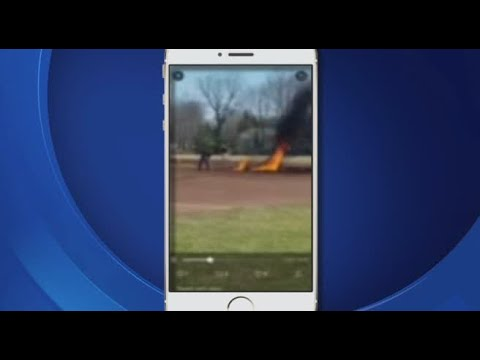 Kevin Johnson - Baseball Field Soaked In Gas, Set On Fire!