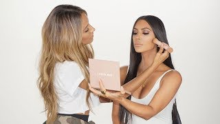 KIM KARDASHIAN WEST MAKEUP TUTORIAL + NEW KKW PRODUCT REVEAL | DESI PERKINS