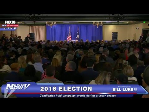 FNN: Donald Trump Rally at Kiawah Island Golf Resort in South Carolina