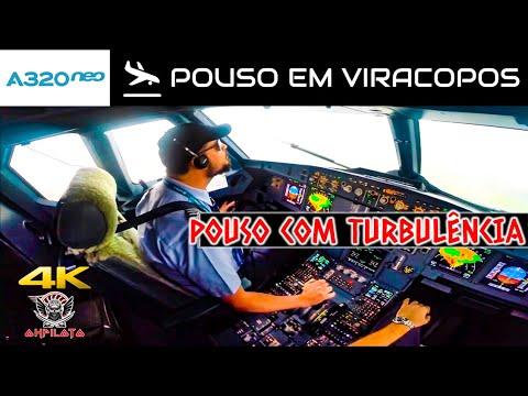 Airbus A320Neo - Pouso com Turbulência em Viracopos!