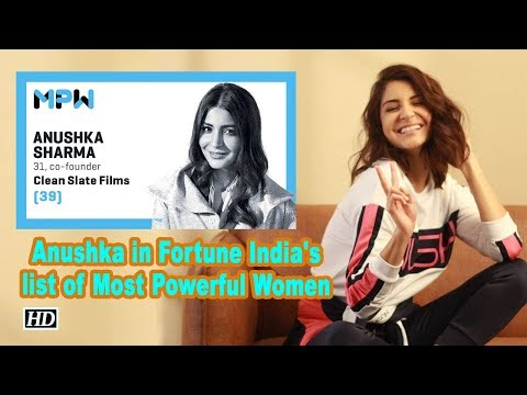 ANUSHKA SHARMA WANITA PALING BERKUASA FORTUNE INDIA 2019