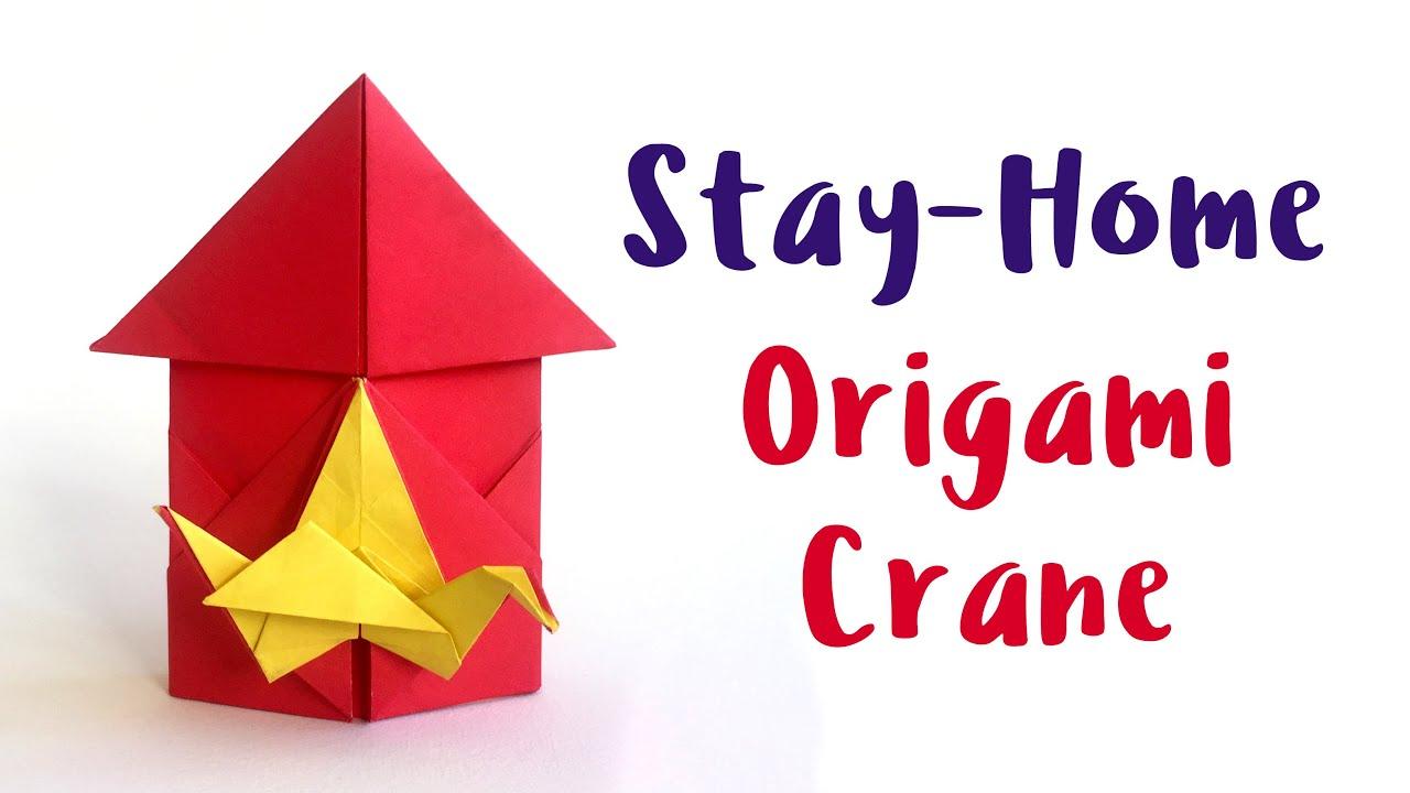 Origami Crane - Easy-to-follow tutorial - YouTube | Como hacer una ... | 720x1280