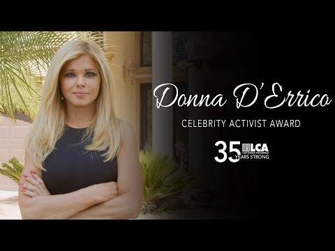 Donna D'Errico – 2019 Celebrity Activist Award