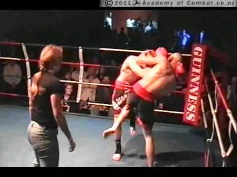 Academy of Combat: Sam Moore, Thai Boxing, Christchurch 2004