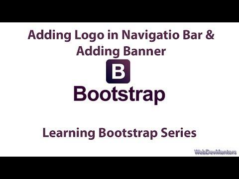 Adding Logo In Navigatio Bar & Adding Banner
