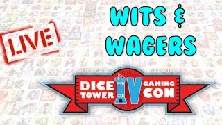 Dice Tower Con 2015 LIVE - Wits and Wagers