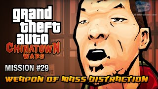 GTA Chinatown Wars - Mission #29 - Weapon of Mass Distraction