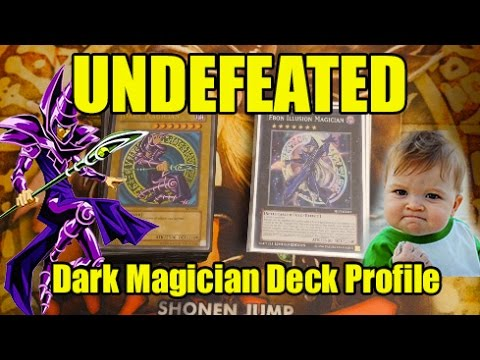 Yugioh UNDEFEATED Dark Magician Deck Profile