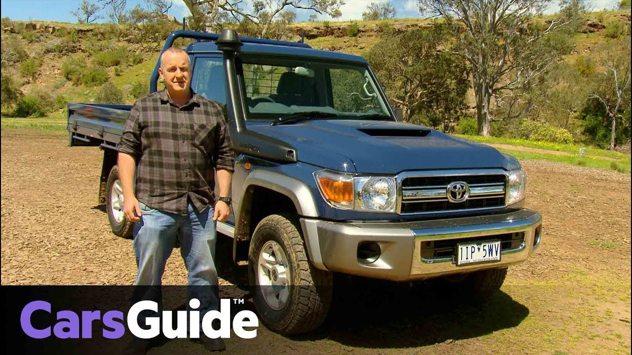 Toyota LandCruiser 70 Series 2016 review | first drive video