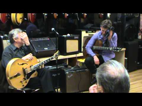 Route 7 Music Guitar Clinic Jazz Legends featuring Jack Wilkins and Pete Bernstein. Segment 3