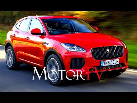 SUV : ALL NEW 2018 JAGUAR E-PACE FIRST EDITION l DRIVING SCENES