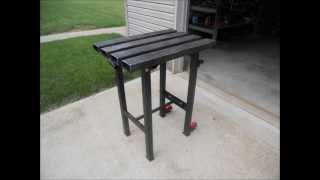 CUSTOM WELDING TABLE-UNDERGROUND TRAINING-STRENGTH EQUIPMENT