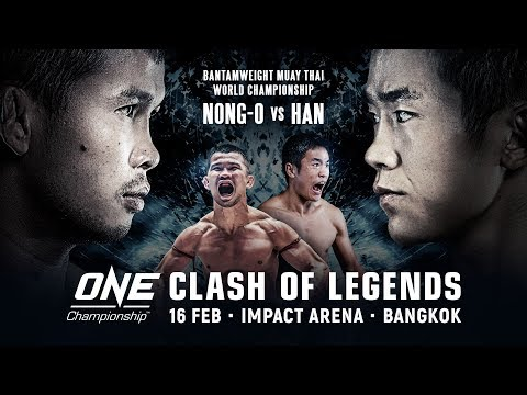 🔴 [Live in HD] ONE Championship: CLASH OF LEGENDS