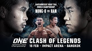 [Full Event] ONE Championship: CLASH OF LEGENDS
