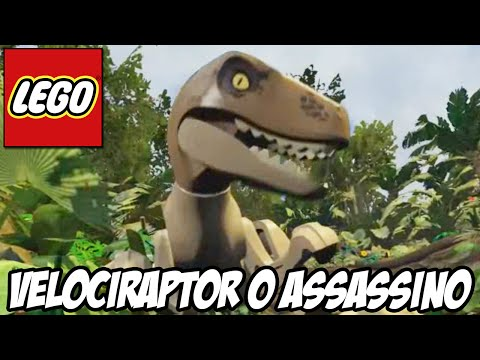 Lego Jurassic World - VELOCIRAPTOR, o assassino MORTAL