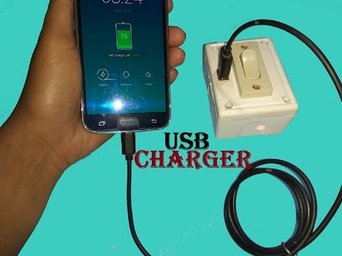 Haw To Make Usb Mobile Phone Charger Eseyle At Home