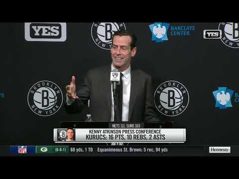 Kenny Atkinson breaks down Nets win over the Suns