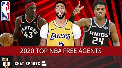 Top 20 NBA Free Agents In 2020