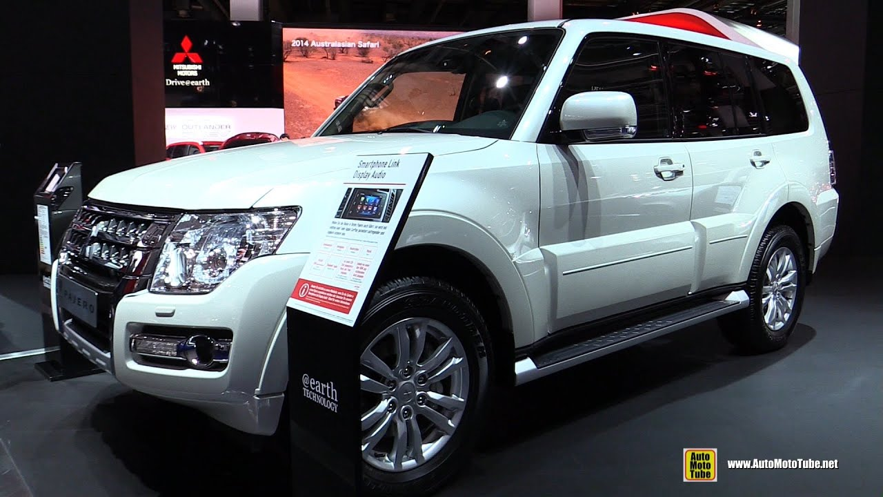 2016 mitsubishi pajero - exterior and interior walkaround - 2015