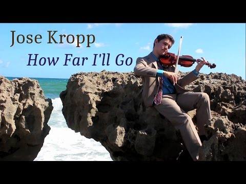MOANA: How Far I'll Go (For Violin)