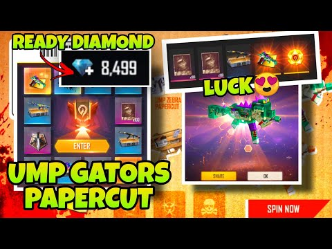 INCUBATOR FREE FIRE - SAFARI RIOT UMP LUCK 75%