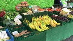 Wochenmarkt im Nordseebad Carolinensiel-Harlesiel 2017