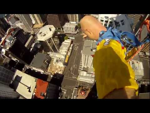 New Zealand Trip - My Skyjump off Auckland tower