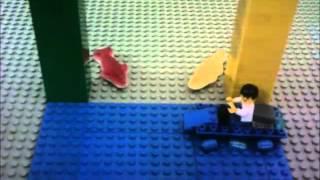 LEGO Taucher AUFGEFRESSEN