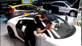 ¡¡Vinilo para el techo de Audi R8!! Proceso de instalación