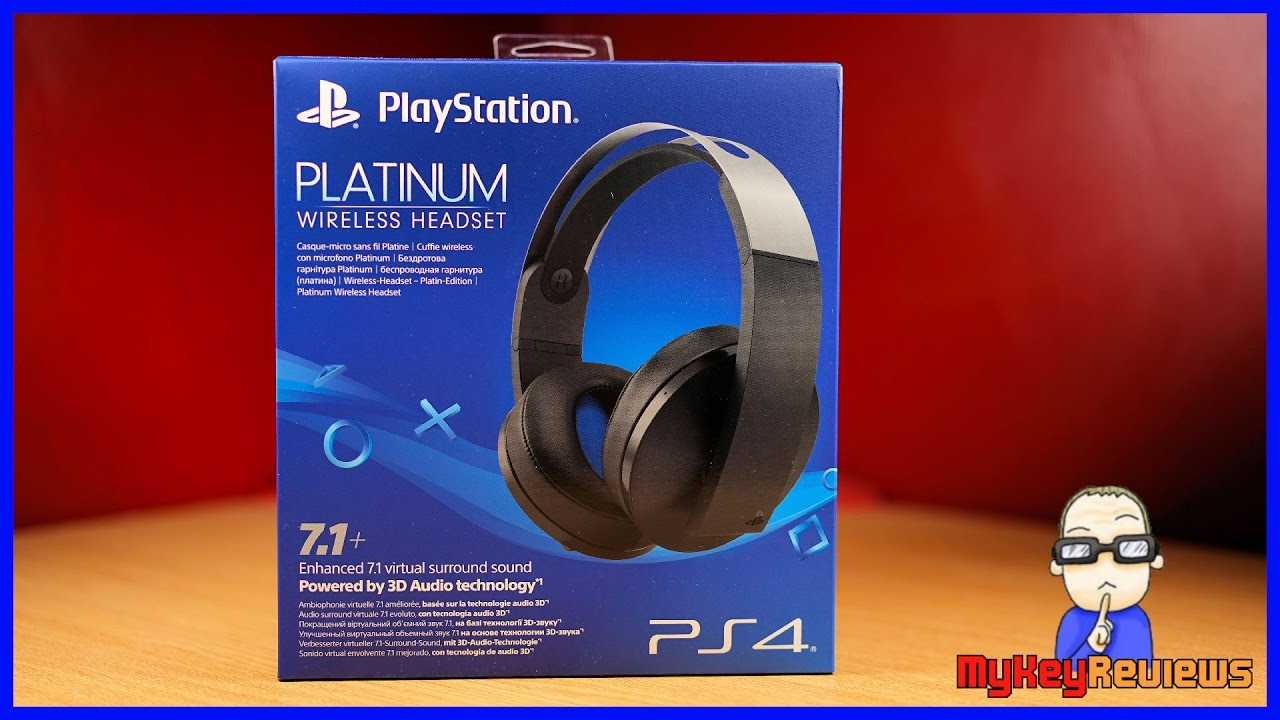 medium resolution of playstation platinum wireless headset ps4 unboxing set up mic test review mykeyreviews youtube