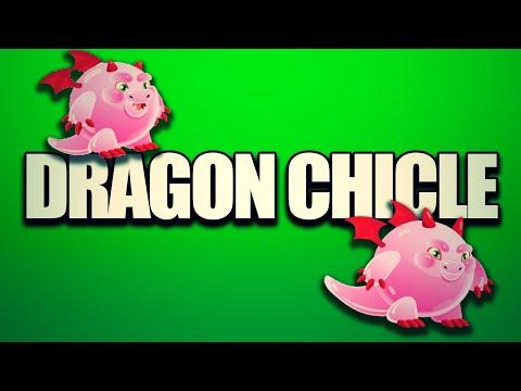 Dragon City Como Hacer El Dragon Chicle - YouTube