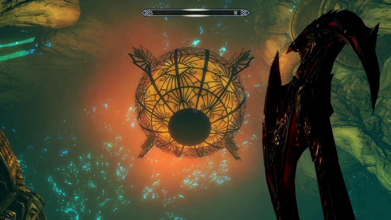 Blackreach Skyrim Dragon Gif