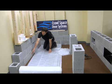 Vapor Barrier Training Crawl Space Door Systems Youtube