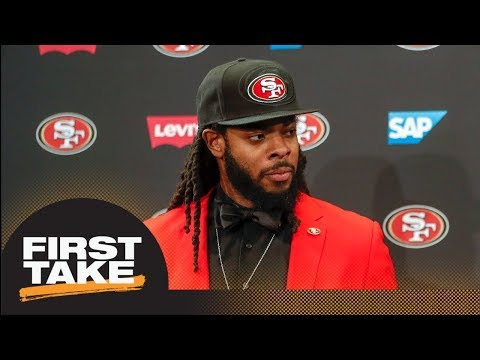 First Take reacts to Richard Sherman negotiating his 49ers deal without agent | First Take | ESPN