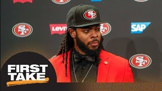 First Take reacts to Richard Sherman negotiating his 49ers deal without agent First Take ESPN