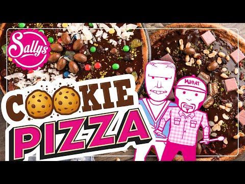 Cookie Pizza mit Süßigkeiten / Murats 5 Minuten