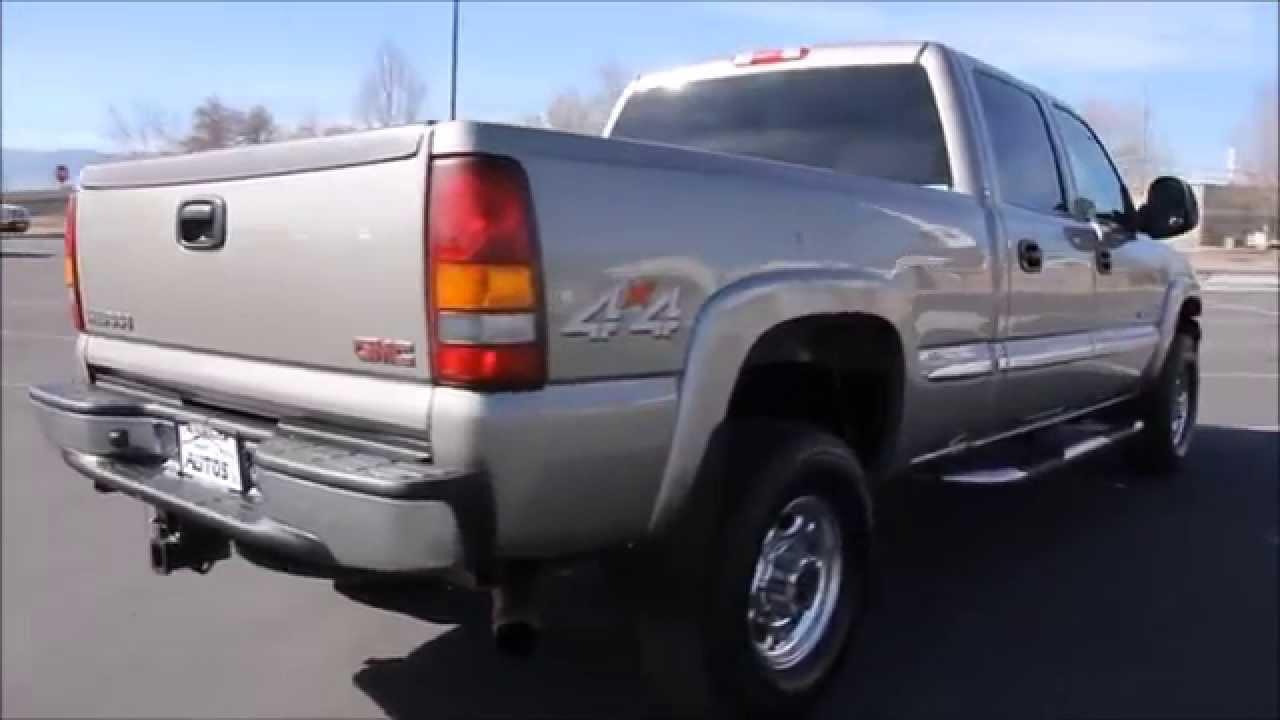 Gmc Duramax Diesel >> 2002 GMC Sierra 2500HD SLT 4x4 DURAMAX DIESEL - Autos Inc - YouTube
