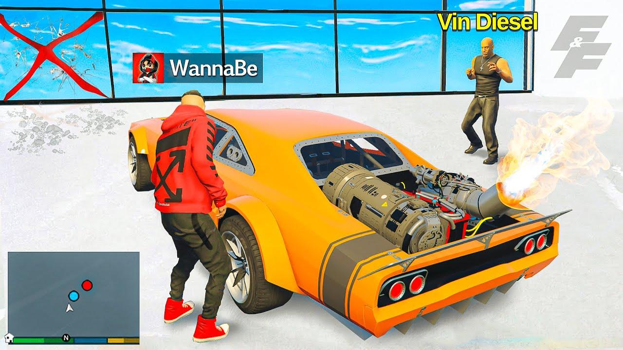 Ich KLAUE FAST & FURIOUS AUTOS in GTA 5 RP