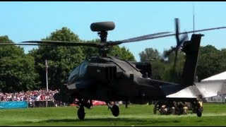 Apache Helicopter Military Display Footage Video