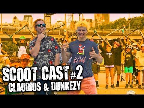 SCOOT CAST #2 | PUNKEZY & CLAUDIUS VERTESI PRIVATE DM's DISS TRACK REACTION
