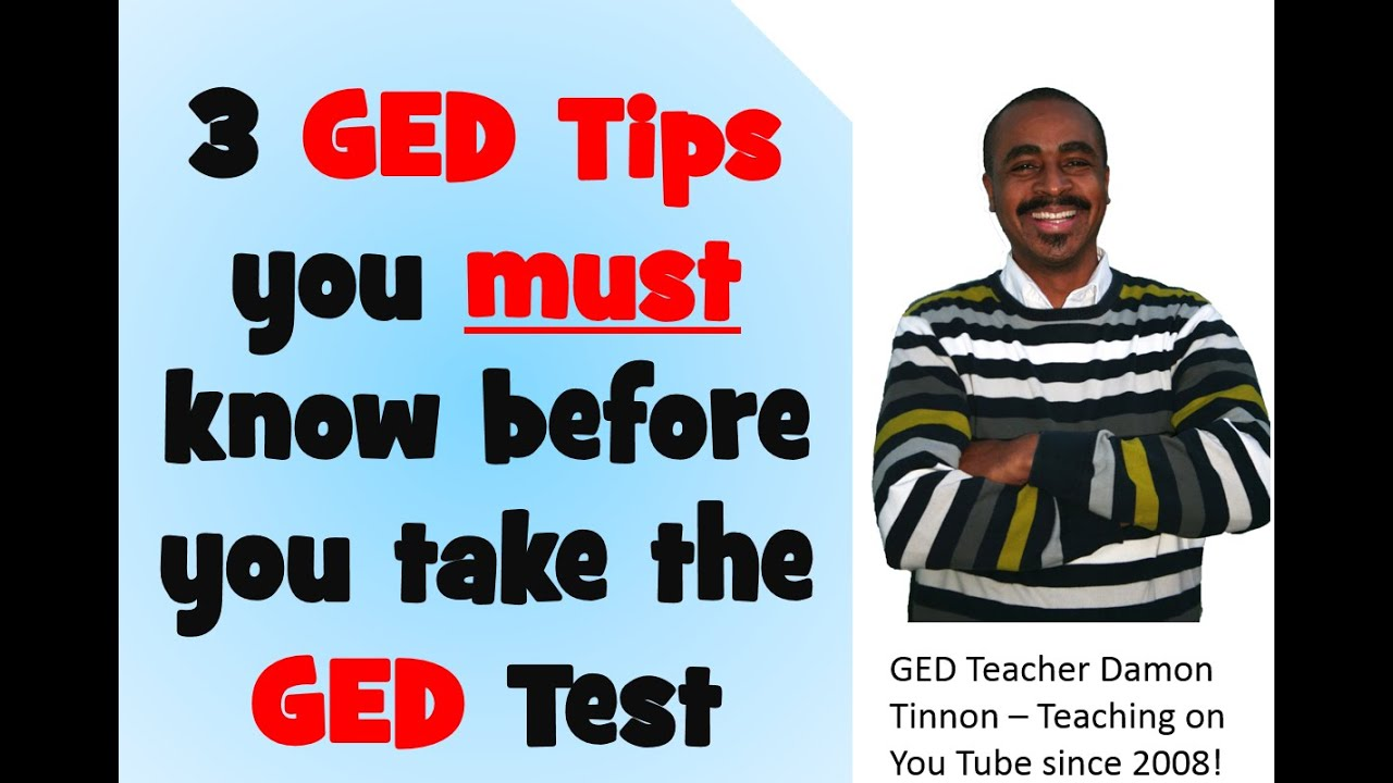 Any advice on GED test?