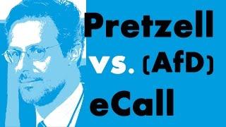 Pretzell (AfD) vs. eCall: