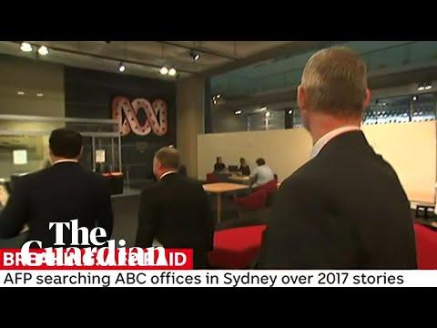 ABC's Sydney Headquarters Raided By Australian Federal Police