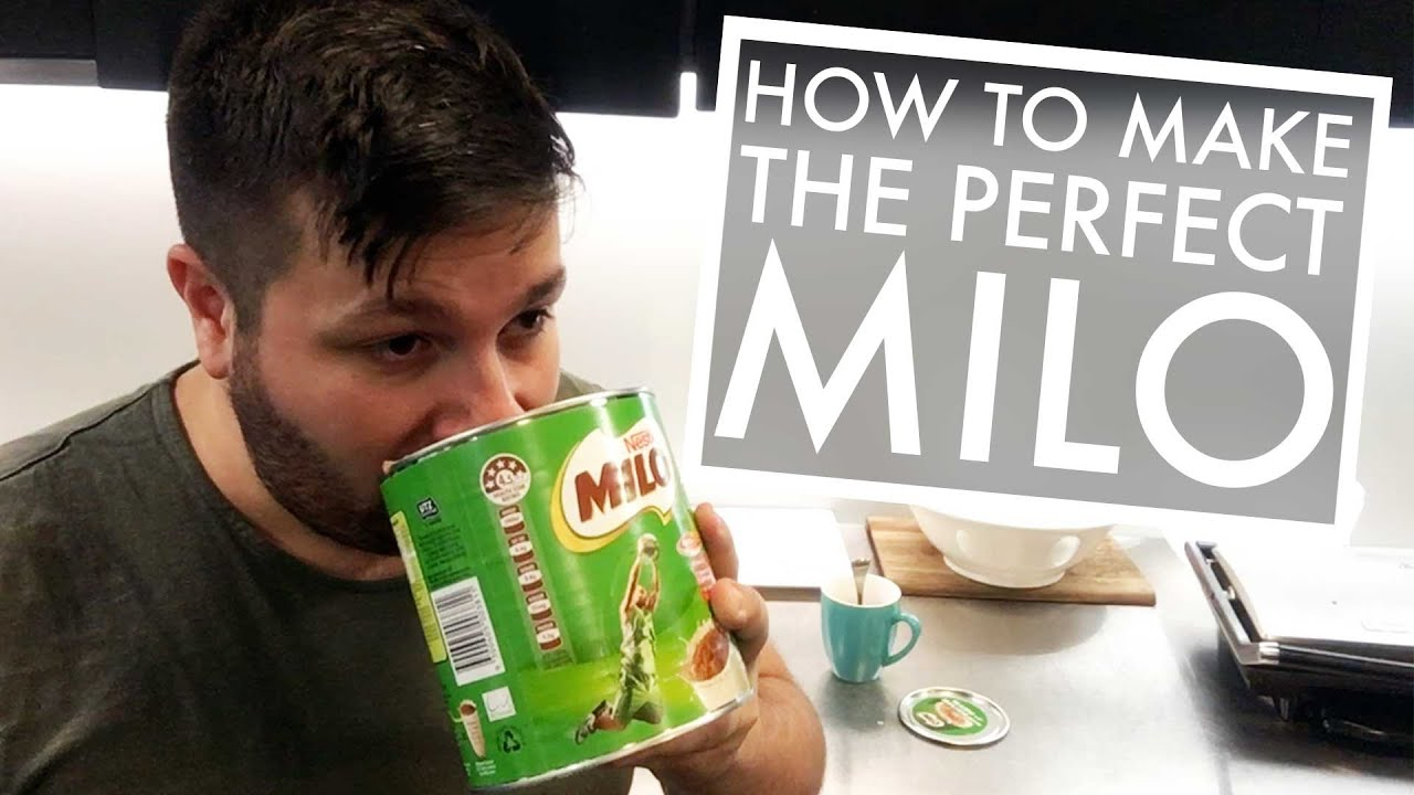 how to make the perfect milo