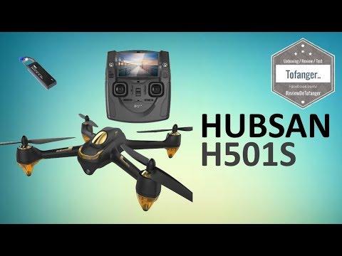 Hubsan H501S X4 Brushless FPV Drone GPS avec Caméra 1080P