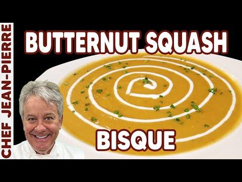 Thanksgiving Special – Butternut Squash Bisque Chef Jean-Pierre