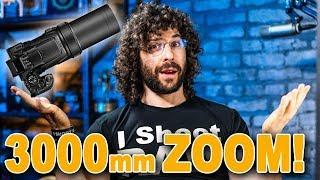 Nikon's MASSIVE 24-3000mm Camera | Coolpix P1000 Preview