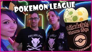 Philadelphia Pokemon League + Egg Hatching Adventures in Pokemon GO!